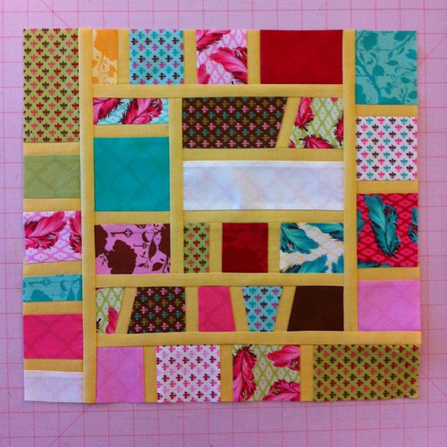 ABL mosaic block for Mary