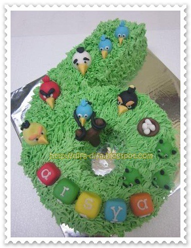 Number Cake by DiFa Cakes