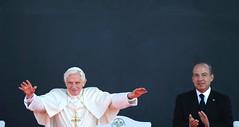 Benedicto XVI llega a Cuba