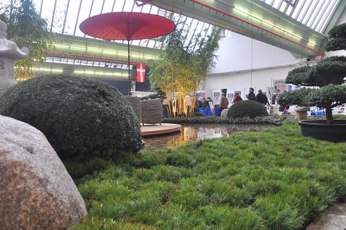 Schitterende tuin op de Interkoi 2012