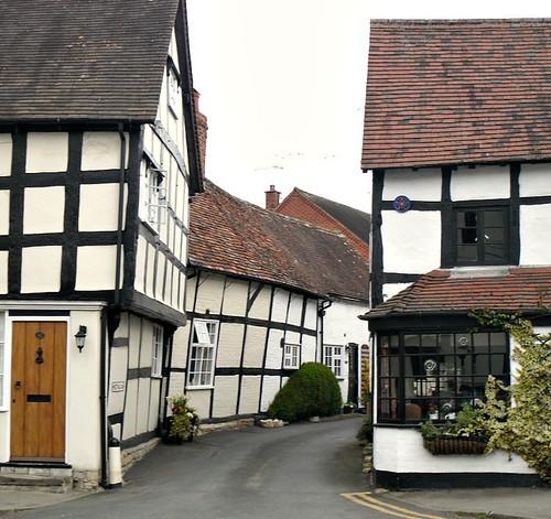 Tudor/Elizabethan houses.
