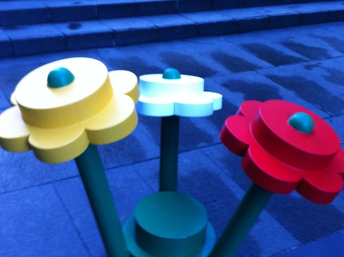 giant lego, Martin Place, Sydney by ellen forsyth