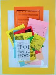 Poem in Your Pocket 2012