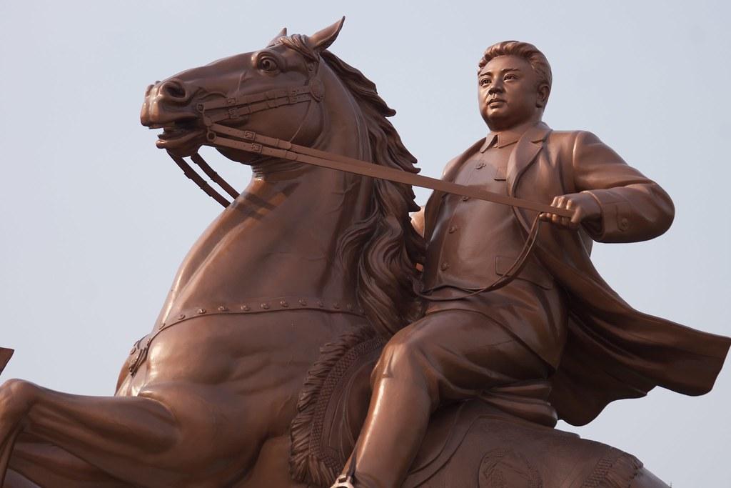 Kim Jong-il Statue Pyongyang