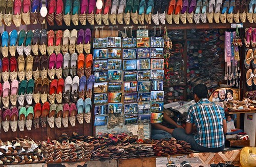 Colourful Souk Stall