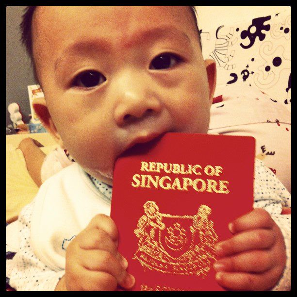 17 Feb - Asher gets a Singapore passport