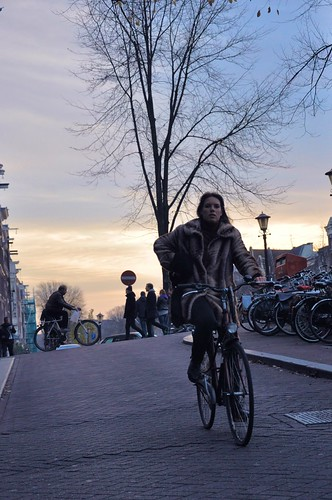 City sunset by Aude by amsterdamcyclechic