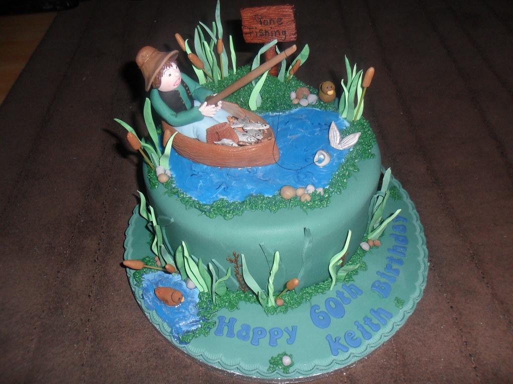 Fishing Boat Fishing Boat Birthday Cake