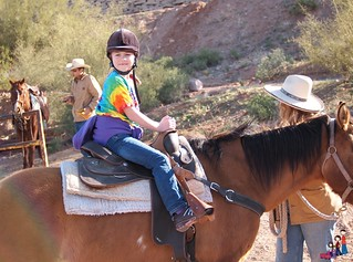 Horseback Riding in the Superstition Mountains, Arizona