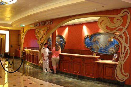 Disney Fantasy Guest Services