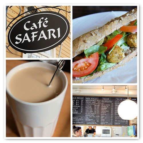 cafe safari, kiruna