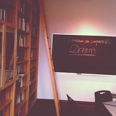 grad school classroom...