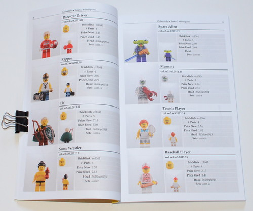 The 2011 LEGO Minifigure Catalog