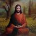 Jesus In Meditation by Slimdandy