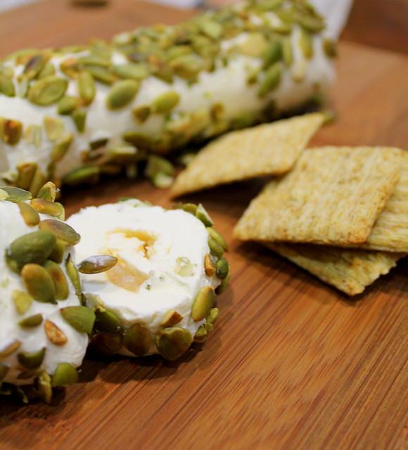 creamcheese log