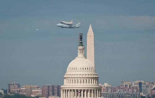 Space Shuttle Discovery DC Fly-Over (201204170045HQ) by nasa hq photo
