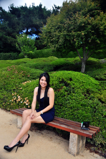 Bestie's Graduation Ceremony and Photoshoot in Japanese Garden