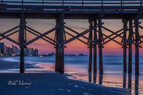 beach sunrise myrtlebeach coast photobybillvarney