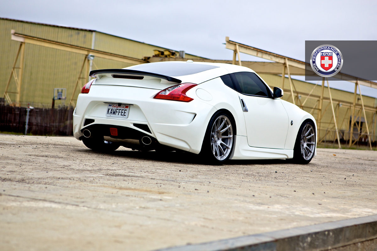 Nissan 370z white hre p43sc brush tinted by hre wheels wheels nissan 370z white hre p43sc brush tinted by hre wheels wheels pinterest nissan 370z nissan and wheels vanachro Image collections