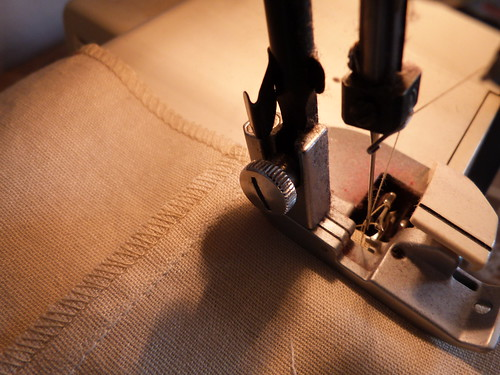 Serging The Bottom Edge Of Pants