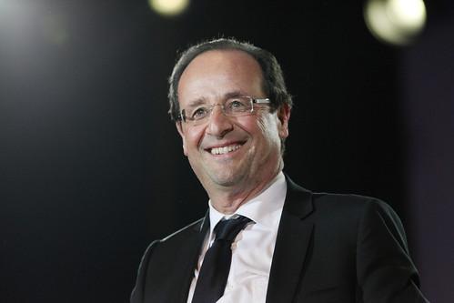 Fançois Hollande à la Bastille
