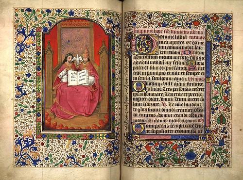 016--La Trinidad-Fol 163-Heures d'Isabeau de Roubaix- Bibliothèque numérique de Roubaix  MS 6