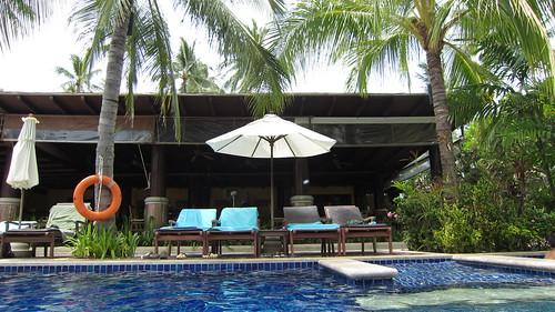 Koh Samui Kandaburi Resort beachpool サムイ島カンダブリリゾート