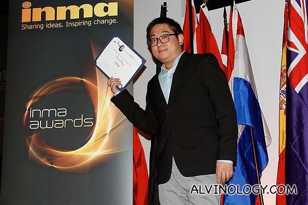 INMA Awards 2012
