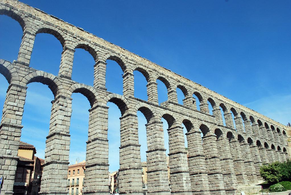 Aqueduct of Segovia, Segovia, Castilla y León, Spain