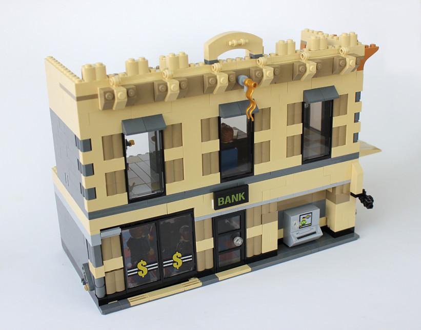Lego Dado: Expanded Lego Batman Bank