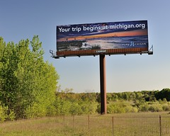 "2012 ""Pure Michigan""  Mackinac Bridge Billboard by Michigan Nut"