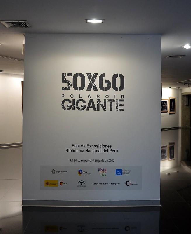 Polaroid Gigante- Bienal de Fotografía de Lima