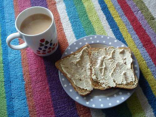 Humous on toast :)