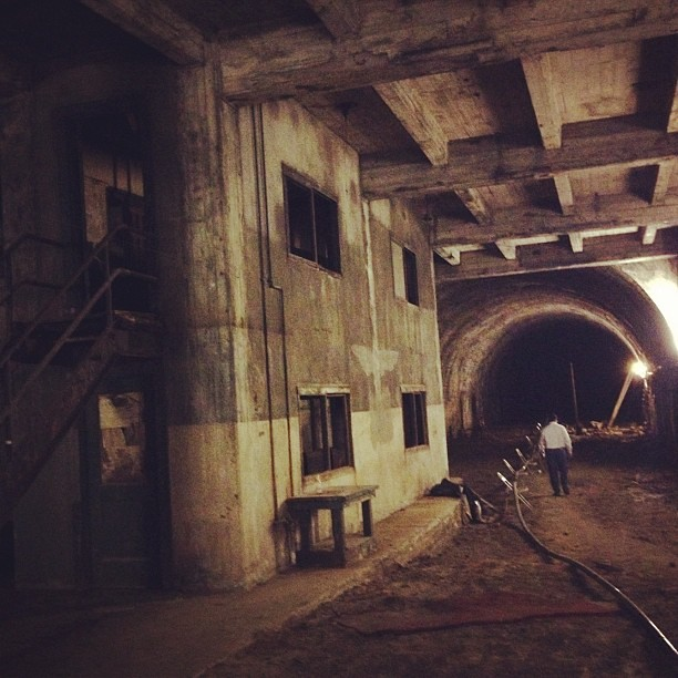 Yes, this is LA. In the former Pacific Electric Railway tunnel under the Subway Terminal Building downtown.