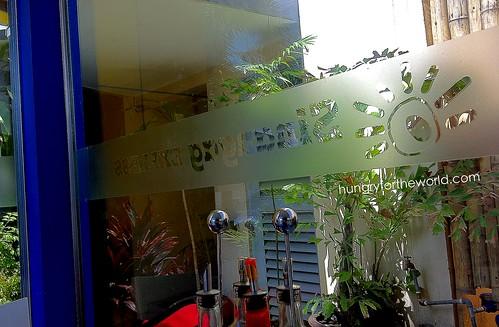 glass signage
