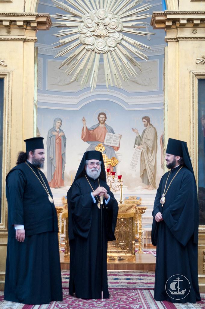 13 июня 2012, Визит делегации Кипрской Православной Церкви в СПбПДА
