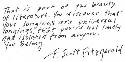 f scott fitzgerald quotes F  F Scott Fitzgerald Quotes Writing