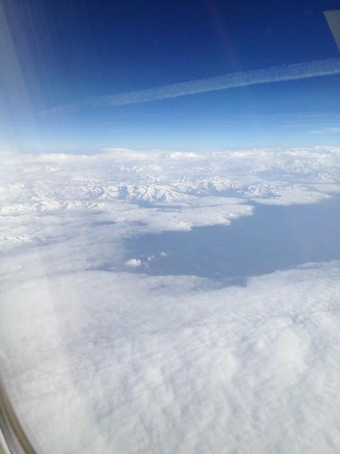 En Route to Italy -  AA0236 JFK - FCO