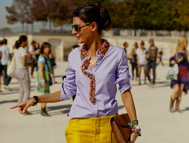 Giovanna Battaglia Yellow