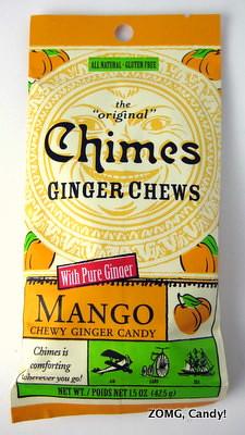 Chimes Ginger Chews Mango