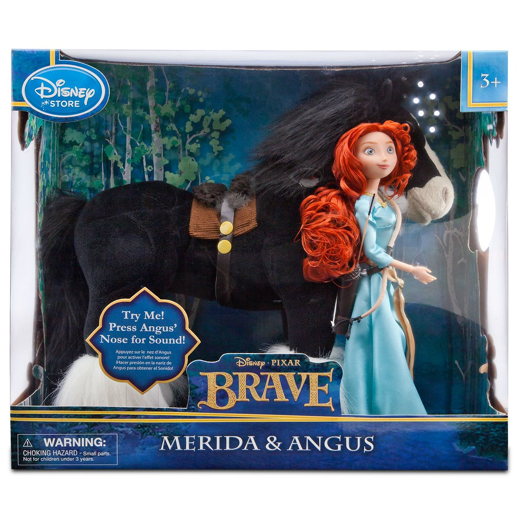 brave angus and merida doll set - 2-pc. - product image #6 - boxed