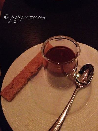 Dinner by Heston Blumenthal chocolate