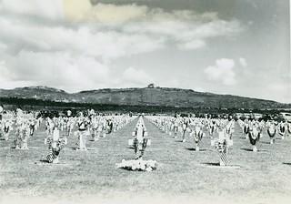 Pearl Harbor Cemetery, Memorial Day, 1950