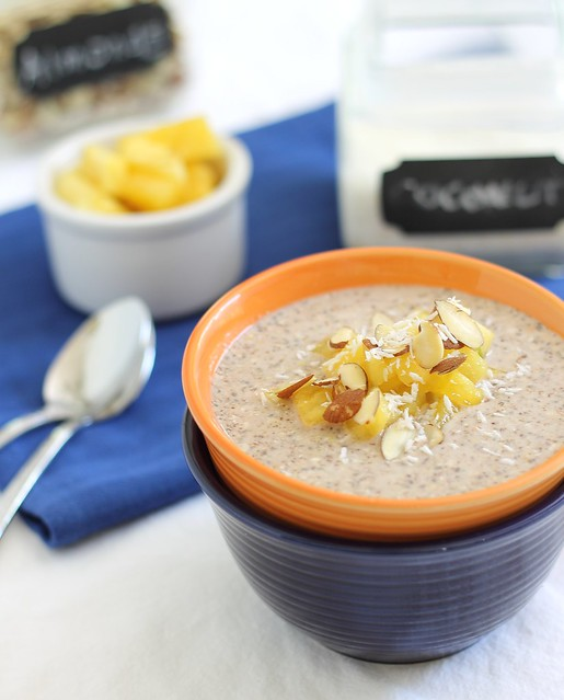 Overnight buckwheat oatmeal