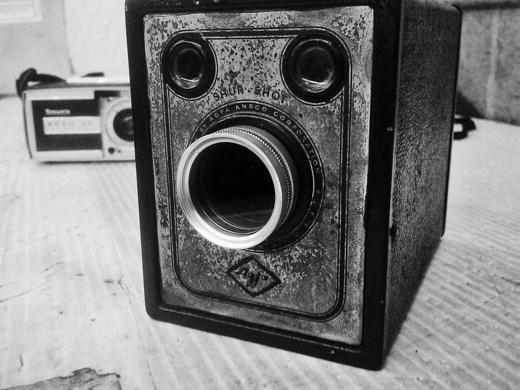 Agfa Shurshot B-2 Box Camera