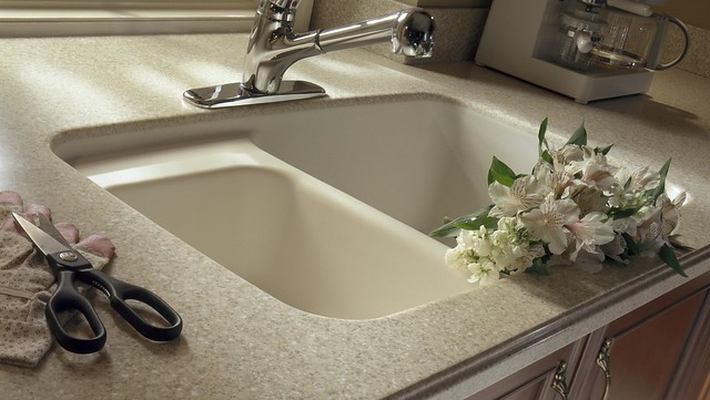 Dupont corian in sahara with corian 874 sink flickr for Corian farm sink price