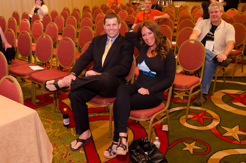 Shawn Collins and Missy Ward at Affiliate Summit Central 2012