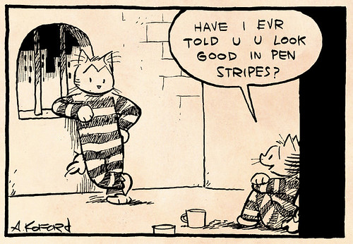Laugh-Out-Loud Cats #1974 by Ape Lad
