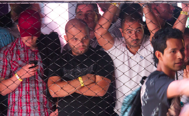 Los Espectadores concentrados (MMA - Medellín)