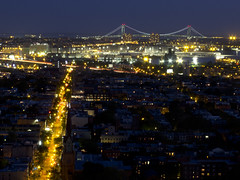 Brooklyn and Verrazano Bridge